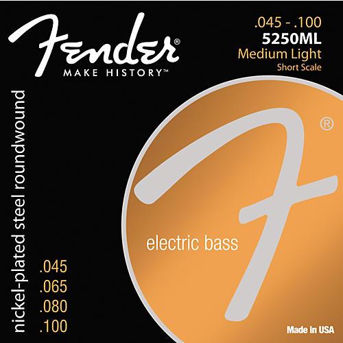 Fender 5250ML Nickel-Plated Steel Short Scale Bass Strings - Medium Light