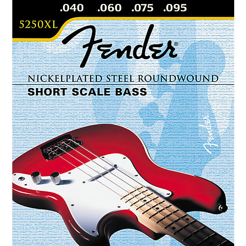 Fender 5250XL Short Scale Bass Extra Light Strings