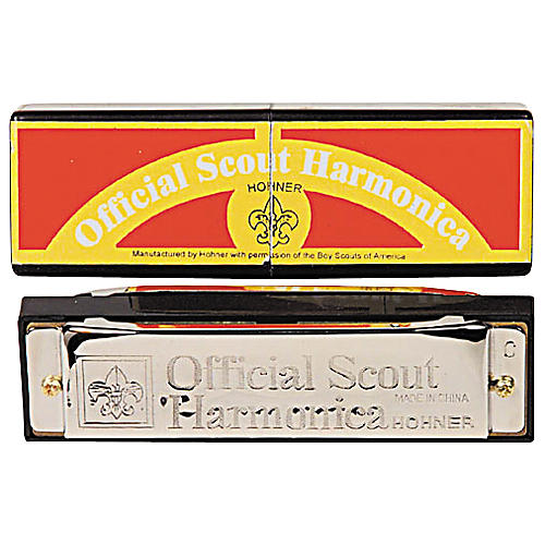 Hohner 530/20 C Official Scout Harmonica