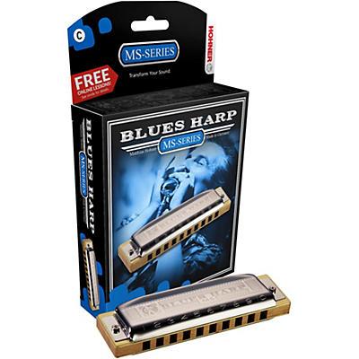 Hohner 532 Blues Harp MS-Series Harmonica