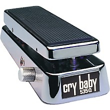Open Box Dunlop 535QC Chrome Cry Baby Wah Pedal