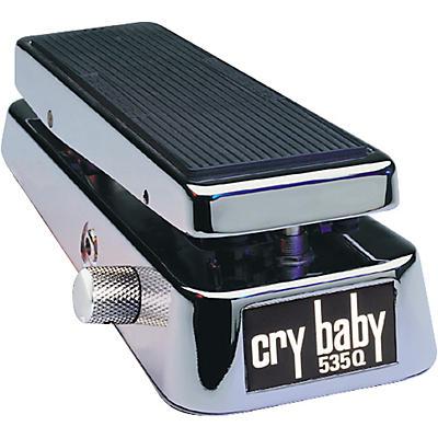 Dunlop 535QC Chrome Cry Baby Wah Pedal
