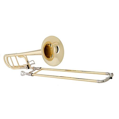 Getzen 547 Capri Series F Attachment Trombone Lacquer Yellow Brass Bell