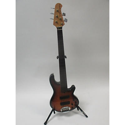 Lakland 55-01 Skyline Deluxe 5 String Electric Bass Guitar