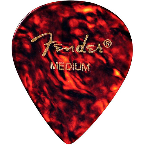 Fender 551 Extra Heavy Celluloid Guitar Pick