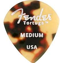551 Shape Tortuga Ultem Guitar Picks (6-Pack), Tortoise Shell Medium