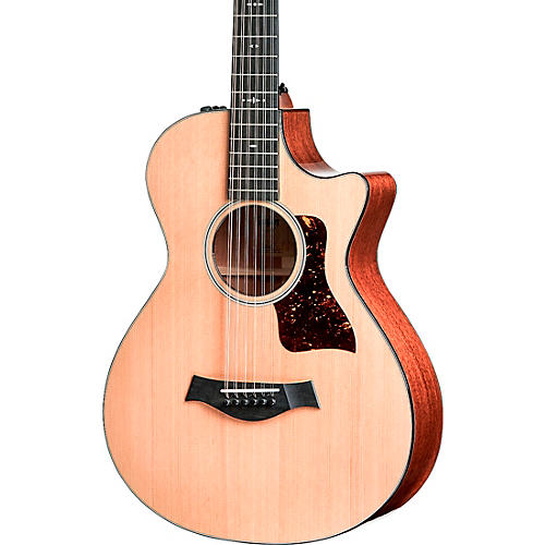 Taylor 552ce V-Class 12-Fret Grand Concert 12-String Acoustic Electric Guitar Natural