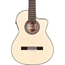 Open BoxCordoba 55FCE Acoustic-Electric Nylon String Flamenco Guitar