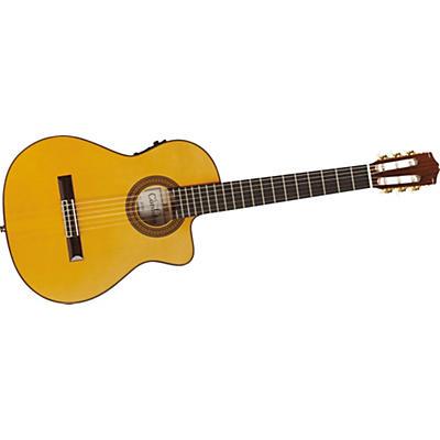 Cordoba 55FCE Thin Body Nylon String Acoustic-Electric Guitar