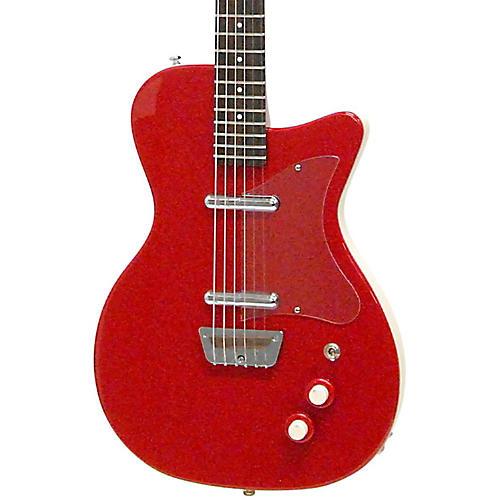 danelectro 39 56 baritone electric guitar red musician 39 s friend