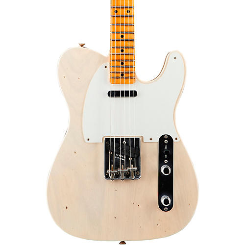 Fender Custom Shop '56 Journeyman Telecaster Maple Fingerboard Electric Guitar Aged White Blonde