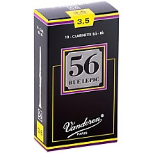 56 rue Lepic Bb Clarinet Reeds Strength 3.5 Box of 10