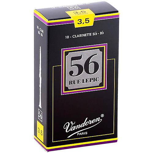 Vandoren 56 rue Lepic Bb Clarinet Reeds Strength 3.5 Box of 10