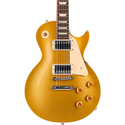 Gibson Custom 57 Les Paul All Gold Light Aged Electric Guitar