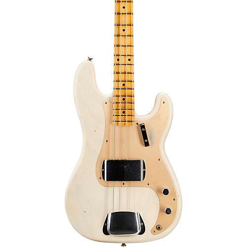 Fender Custom Shop 57 Precision Bass Journeyman Relic Aged White Blonde