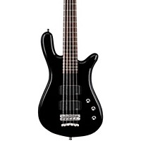 Warwick Rockbass Streamer Standard 5-String Electric Bass Guitar Black Hp