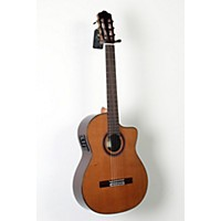 Used Cordoba C7-Ce Cd Acoustic-Electric Nylon String Classical Guitar Natural 888365854212