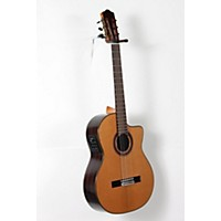 Used Cordoba C7-Ce Cd Acoustic-Electric Nylon String Classical Guitar Natural 888365934051