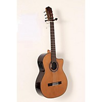 Used Cordoba C7-Ce Cd Acoustic-Electric Nylon String Classical Guitar Natural 190839014535