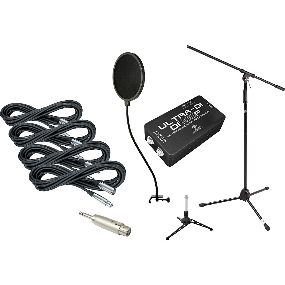 Gear One Gigging Pro Recording Accessories Pack