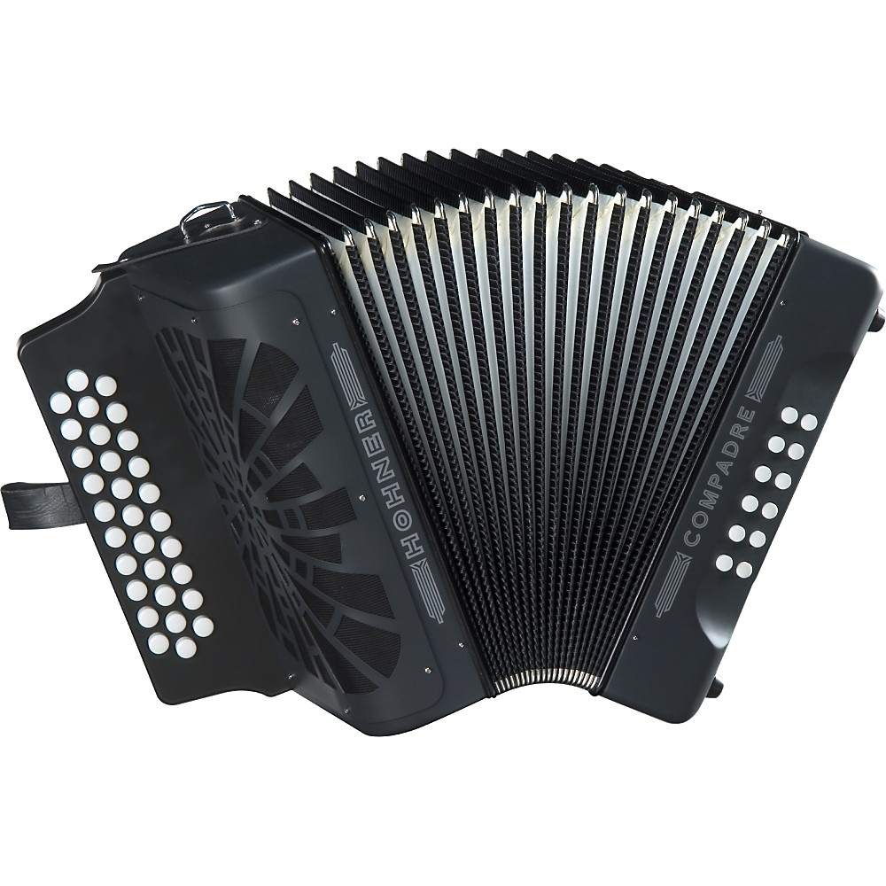 Hohner Compadre FBbEb Accordion Black
