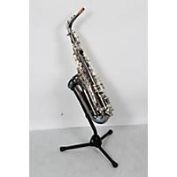 Used Allora Vienna Series Intermediate Alto Saxophone Aaas-505 - Black Nickel Body - Silver Plated Keys 190839020796