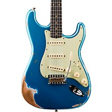 '59 Heavy Relic Stratocaster Rosewood Fingerboard Electric Guitar Aged Lake Placid Blue