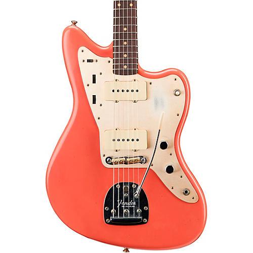 Fender Custom Shop '59 Journeyman Jazzmaster Rosewood Fingerboard Electric Guitar Super Faded Aged Fiesta Red