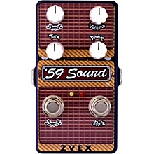 Open Box ZVex '59 Sound Vertical Overdrive Effects Pedal