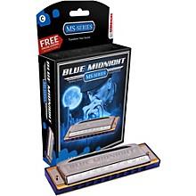 595BL Blue Midnight Harmonica Key of G