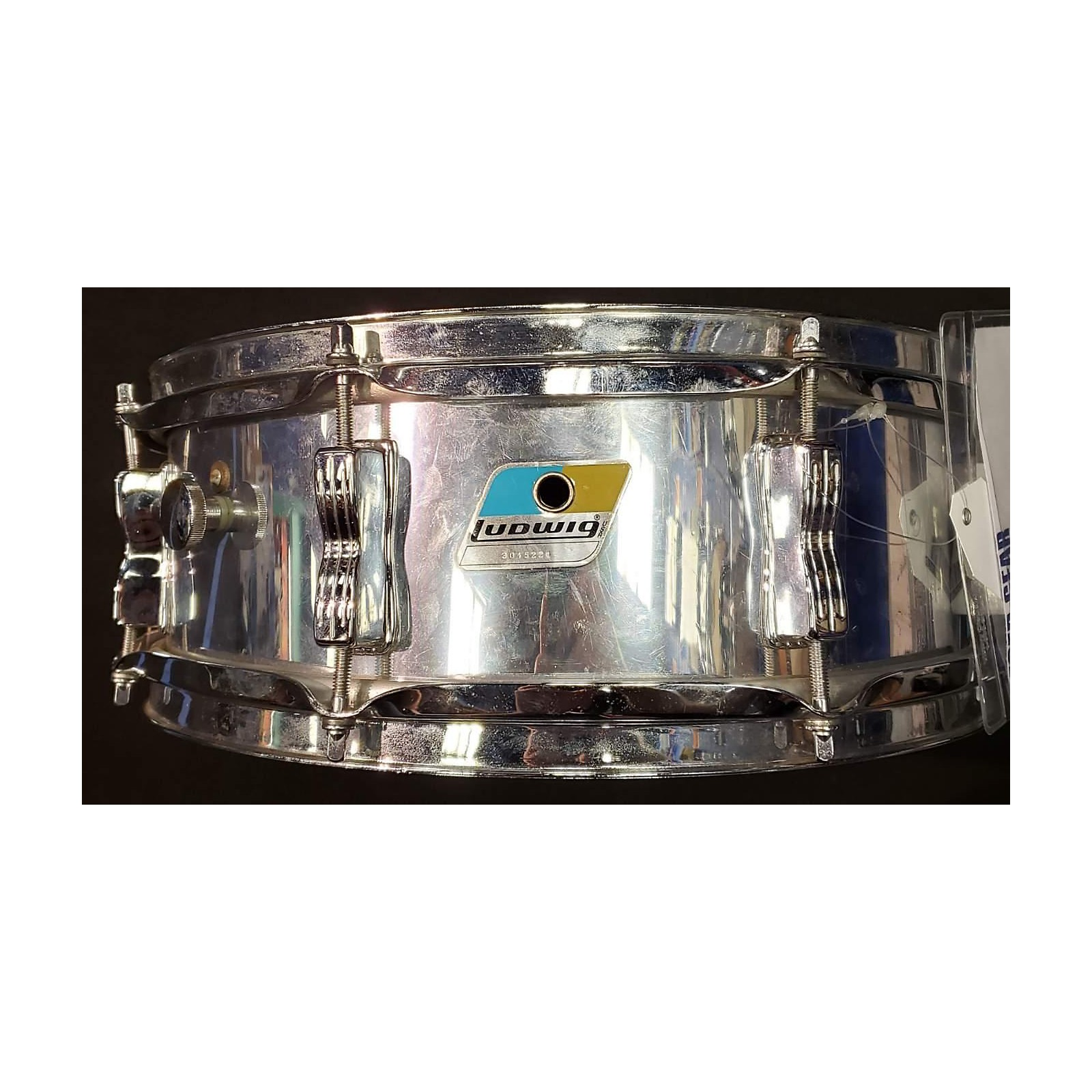 Ludwig 5X14 Chrome Over Wood Drum