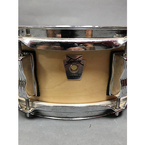 Ludwig 5X14 Classic Snare Drum Natural 8