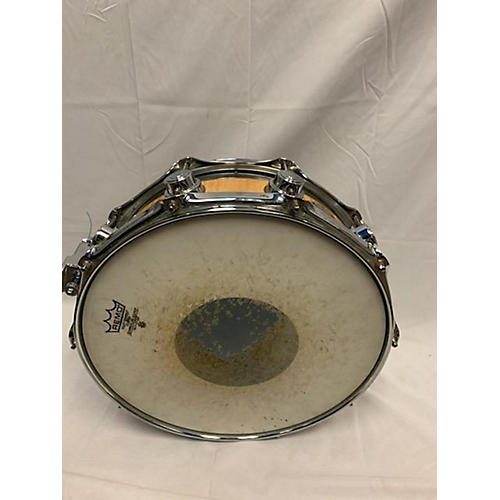 DW 5X14 Collector's Edge Series Finish Ply Snare Drum Natural 8