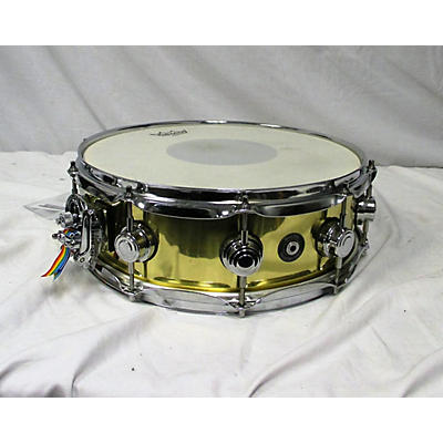 DW 5X14 Collector's Series Brass Snare Drum