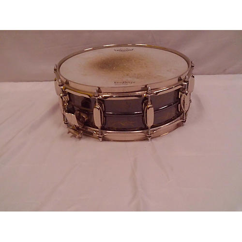 TAMA 5X14 Kenny Aronoff Signature Snare Drum Black Nickel Over Brass 8