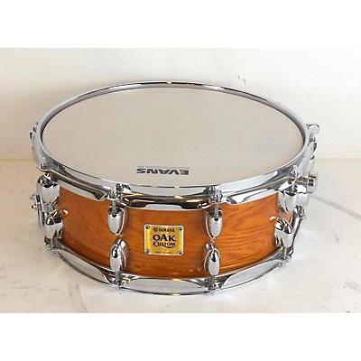 Yamaha 5X14 Oak Custom Snare Drum