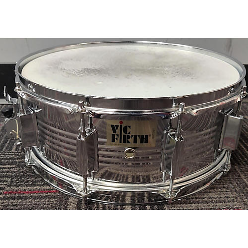 Vic Firth 5X14 Snare Drum Drum Chrome Silver 8
