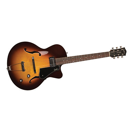 Godin 5th Avenue Composer GT Archtop Hollowbody Electric Guitar
