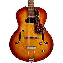 Open Box Godin 5th Avenue Kingpin Archtop Hollowbody Electric Guitar With P-90 Pickup