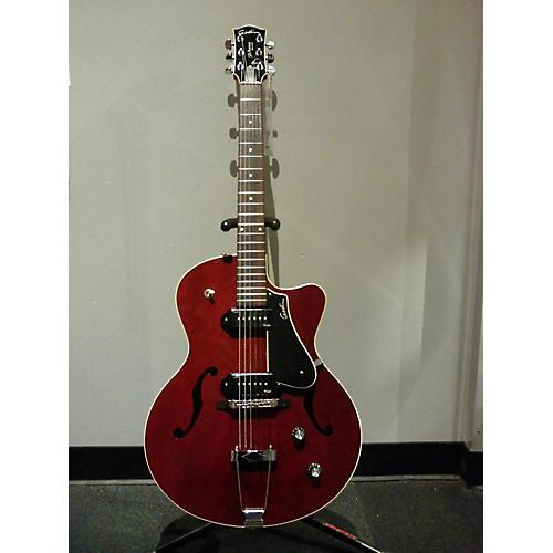 Godin 5th Avenue Kingpin II Hollow Body Electric Guitar Trans Burgandy