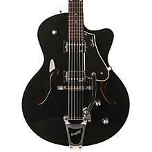 5th Avenue Uptown GT Guitar with Bigsby Solid Black