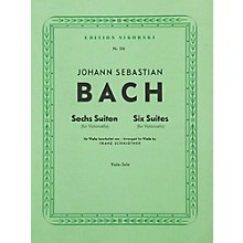 Hal Leonard 6  Bach Suites: Viola