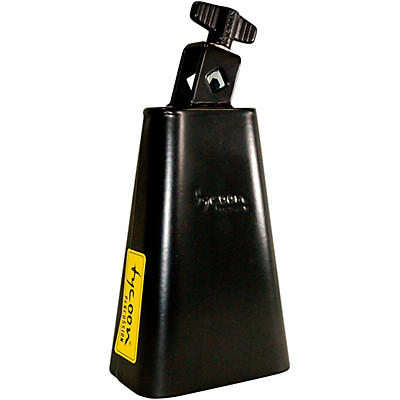 "Tycoon Percussion 6"" Black Powder Coated Cowbell"