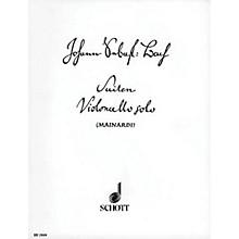 Schott 6 Cello Suites Schott Series