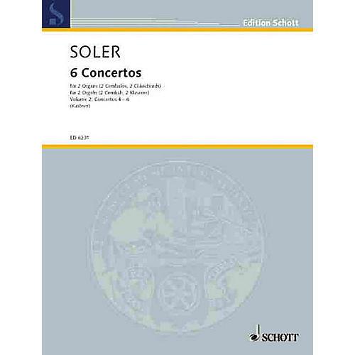 Schott 6 Concertos - Vol. 2 (Performance Score) Schott Series