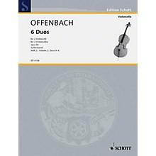 Schott 6 Duos, Op. 50 Vol. 2: Nos. 4-6 (Cello Duet) Schott Series