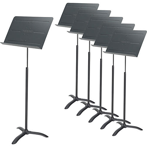 Proline 6-Pack Professional Orchestral Music Stand Black