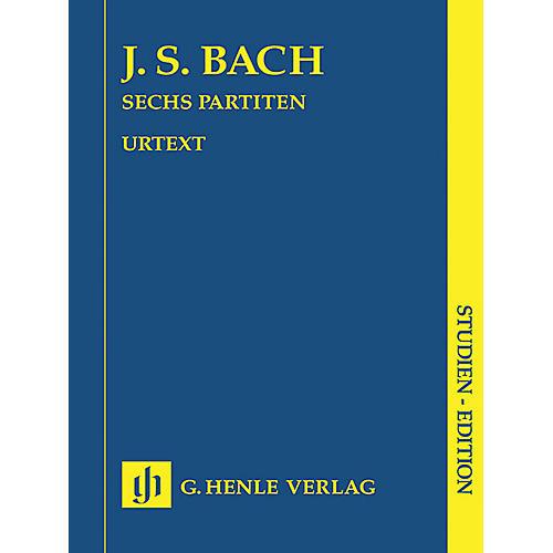 G. Henle Verlag 6 Partitas BWV 825-830 (Study Score) Henle Study Scores Series Softcover