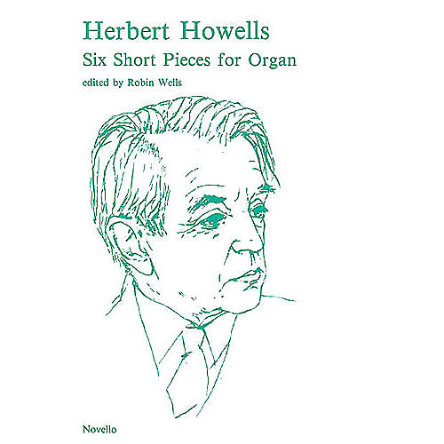 Novello 6 Short Pieces for Organ Music Sales America Series