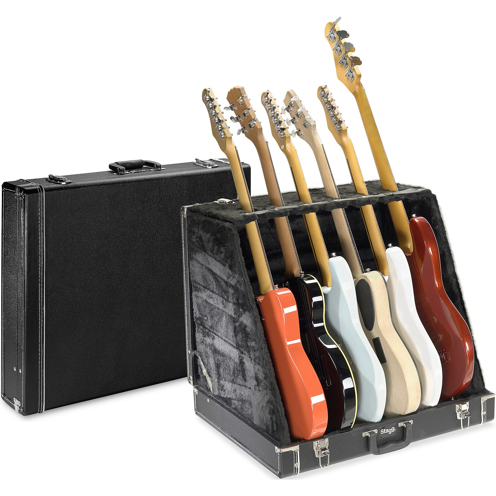 Stagg 6 Slot Guitar Stand
